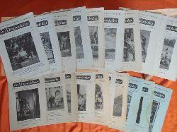 Der Stenopraktiker. Zeitschrift für deutsche Stenografie. (Konvolut aus 23 Ausgaben)