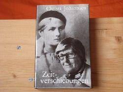 Johannsen, Christa  Zeitverschiebungen