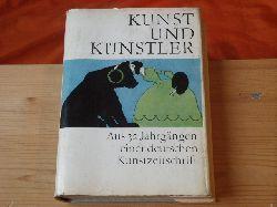 Feist, Günter (Hrsg.)  Kunst und Künstler. Aus 32 Jahrgängen einer deutschen Kunstzeitschrift.