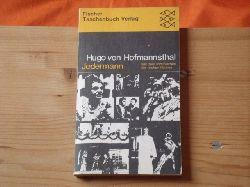 Hofmannsthal, Hugo von  Jedermann. Das Spiel vom Sterben des reichen Mannes.