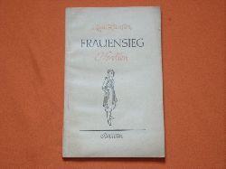 Hamsun, Knut  Frauensieg. Novellen.