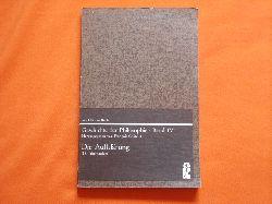 Châtelet, François (Hrsg.)  Geschichte der Philosophie – Band IV: Die Aufklärung (18. Jahrhundert)