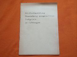 Die Reifeprüfung. 5. Band: Chemie.