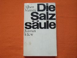 Memmi, Albert  Die Salzsäule (Leseexemplar)