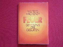 Hacheney, Wilfried  Feuer. Geheimnis der Geburten.