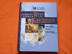 Illustriertes Lexikon der Weltgeschichte. Personen, Daten, Ereignisse.