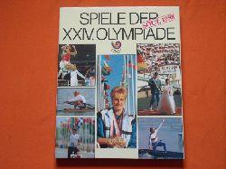 Gesellschaft zur Förderung des olympischen Gedankens in der DDR (Hrsg.)  Spiele der XXIV. Olympiade. Soul 1988.