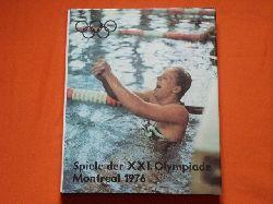 Gesellschaft zur Förderung des olympischen Gedankens in der DDR (Hrsg.)  Spiele der XXI. Olympiade. Montreal 1976.