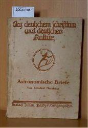 Meerkatz,Schulrat    Meerkatz,Schulrat    Astronomische Briefe aus dt.Schrifttum.Kultur
