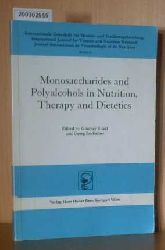 Ritzel, G.  Ritzel, G. Monosaccharides and Polyalcohols in Nutrition, Therapy and Dietetics