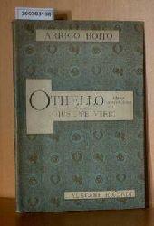 Arrigo Boito    Arrigo Boito   Othello,Textbuch zur Oper  Schmuckdruck