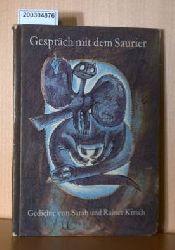Sarah und Rainer Kirsch  Sarah und Rainer Kirsch Gespräch mit dem Saurier - DDR RARITÄT - Gedichte