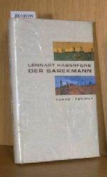 Hagerfors, Lennart  Hagerfors, Lennart Der Sarekmann, Roman, Aus dem Schwedischen von Verena Reichel