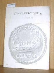 Münzauktionskatalog 35 - 1967 Vente Publique 35 Monnaies Romaines et Byzantines Brakteaten. Haus Österreich -österreichische Fürsten