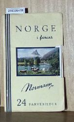 Norge i farver. 24 Farvebilder.  Norge i farver. 24 Farvebilder. Norge i farver. 24 Farvebilder.