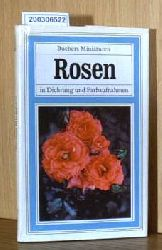ROSEN in Dichtung und Farbaufnahmen - Buchers Miniaturen