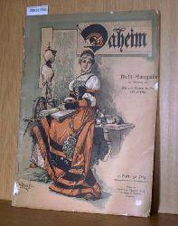 Daheim, Dreiwochen-Heft vom 17.September 1901 XXXVII. Jahrgang 1901