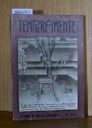 Temperamente - Blätter für junge Literatur 4/1979