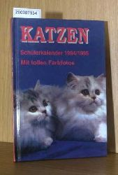 Katzen Schülerkalender 1995/1996. Mit tollen Farbfotos