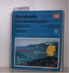 kursbuch gesamtausgabe 1990/1991 winter