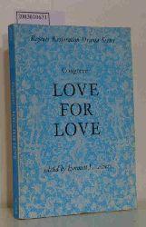 Congreve Love for Love