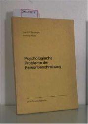 INgrid M. Deusinger, Henning Haase  INgrid M. Deusinger, Henning Haase Psychologische Probleme der Personenbeschreibung