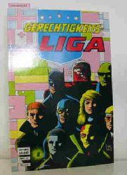 Gerechtigkeits-LIGA - Nr. 4.,  Attacke aus dem All
