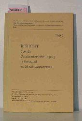 Bericht über die Unfallmedizinische Tagung in Dortmund am 26./27. Oktober 1968, Schriftenreihe: Unfallmedizinische Tagungen der Landesverbände der gewerblichen Berufsgenossenschaften. Heft 5