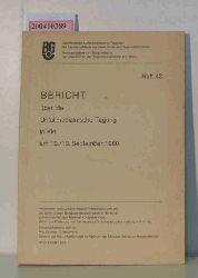 Bericht über die Unfallmedizinische Tagung in Kiel am 12./13. September 1980, Schriftenreihe: Unfallmedizinische Tagungen der Landesverbände der gewerblichen Berufsgenossenschaften. Heft 42