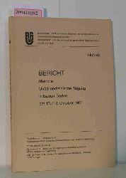 Bericht über die Unfallmedizinische Tagung in Baden-Baden am 17./18. Oktober 1981, Schriftenreihe: Unfallmedizinische Tagungen der Landesverbände der gewerblichen Berufsgenossenschaften. Heft 46