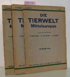 """""""Brohmer, Paul ; Ehrmann, Paul""""  """"Brohmer, Paul ; Ehrmann, Paul"""" Die  Tierwelt Mitteleuropas III. Band, 1.,2.,3.  Lief. Spinnentiere"""