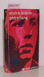 Breton, André  Breton, André Entretiens - Collection Idèes (1913 - 1952)
