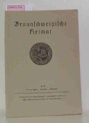 braunschweigische heimat 1974 / 60. Jahrgang Heft 3/4 Dezember