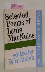 W.H.Auden  W.H.Auden Selected Poems of Louis McNeice