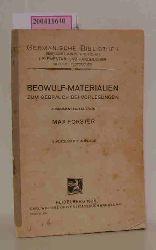 M. Förster  M. Förster Beowulf-Materialien