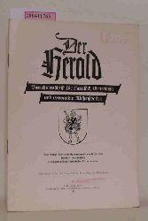 Der herold Vierteljahrsschrift für Heraldik, Genealogie und verwandte Wissenschaften