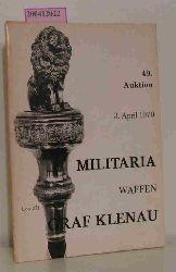 49. Auktion 3. April 1970 / Militaria - Waffen