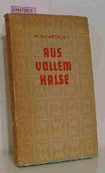 Majakovskij, Vladimir V.  Majakovskij, Vladimir V. Aus vollem Halse