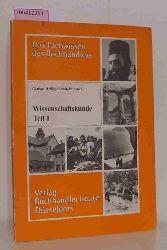 """Helbig, Gerhart; Edwin Klingner""  ""Helbig, Gerhart; Edwin Klingner"" Das Fachwissen des Buchhändlers - Wissenschaftskunde Teil 1"