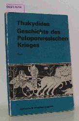 Thucydides  Thucydides Geschichte des Peloponnesischen Krieges - Text