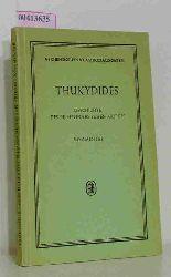 Thucydides  Thucydides Geschichte des Peloponnesischen Krieges - Kommentar