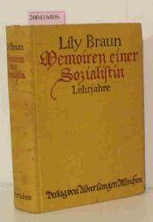 Braun, Lily  Braun, Lily Memoiren einer Sozialistin