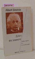 Einstein, Albert  Einstein, Albert Zeiten des Staunens