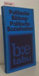 Politische Bildung, politische Sozialisation