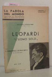 """Bontempelli, Massimo  Bontempelli, Massimo """"Leopardi """"""""L"""