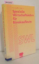 """""""Schulter-Jeffré, Gertrud ; Clemenz, Gerhard""""  """"Schulter-Jeffré, Gertrud ; Clemenz, Gerhard"""" Spezielle Wirtschaftslehre für Bürokaufleute"""