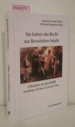 Balzer, Friedrich-Martin [Hrsg.]  Balzer, Friedrich-Martin [Hrsg.] Sie haben das Recht zur Revolution bejaht