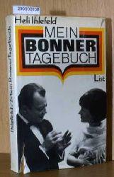 Ihlefeld, Heli  Ihlefeld, Heli Mein Bonner Tagebuch