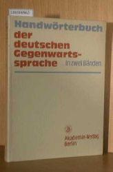 Kempcke, Günter  Kempcke, Günter Handwörterbuch der deutschen Gegenwartssprache. Bd. 2: L-Z