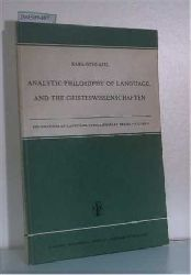 Apel, Karl- Otto  Apel, Karl- Otto Analytic Philosophy of Language and the Geisteswissenschaften
